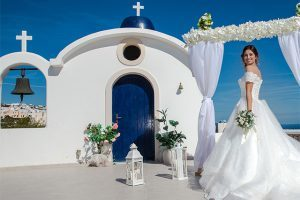 santorini elopement venues